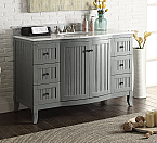 Adelina 49 inch Transitional Style Bathroom Sink Vanity