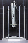 Horizon Shower Enclosure SHEN-2138388 Brushed Nickel
