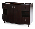 48 inch Dark Espresso Bathroom Vanity Without Top