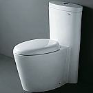 Ariel Contemporary One Piece Toilet with Dual Flush