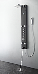 Pavia Stainless Steel (Brushed Gray) Thermostatic Shower Massage Panel