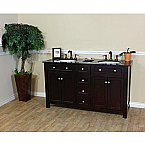 Bellaterra Home 603210-DM Double Sink Vanity