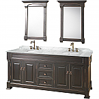 "Andover 72"" Bathroom Vanity Wyndham Collection"