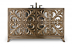 Fleur-de-lis 56 inch Hall Chest Bathroom Vanity by Cole & Co. Designer Series