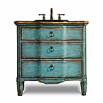 Buckner 32 inch Hall Chest Bathroom Vanity by Cole & Co. Designer Series