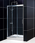 DreamLine Illusion 60 x 72 Shower Door, Unique 3 panel design