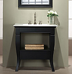 30 inch Bathroom Vanity for Vitreous China Top