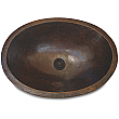 Cole & Co Copper Hampton Sink Copper Plainr Finish