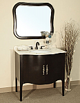 Bellaterra Home 203037-WALNUT Bathroom Vanity