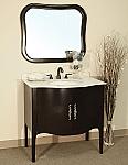 Bella 36 inch Espresso Bathroom Vanity