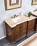 Accord Antique Modular Bathtoom Vanity Roman Vein-Cut Top