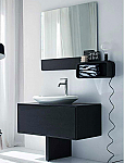 LaToscana Ola 39 inch Bathroom Vanity with Oval Sink