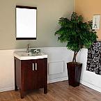 Bella 24 inch Single Sink Bathroom Vanity Vitreous China Top