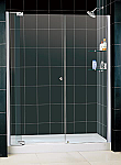 "DreamLine 54""-61"" x 72"" Allure Shower Door Right & Left Installation"