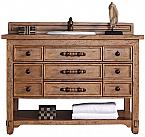 "James Martin Malibu Collection 48"" Single Vanity Cabinet, Honey Alder"