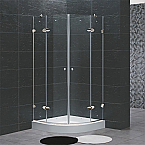 "Vigo VG06021 Frameless Neo Round Shower Enclosure 40"" x 40"""
