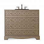 Blaire 42 inch Hall Chest Bathroom Vanity by Cole & Co. Designer Series