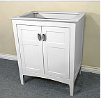 Bella 29 Inch Single Sink Vanity Base Only
