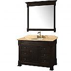 "Andover 48"" Bath Vanity Wyndham Collection"