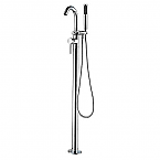 ALFI Single Lever Floor Mounted Tub Faucet