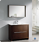 "Fresca Allier 40"" Modern Bathroom Vanity Wenge Finish"