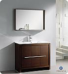 "Fresca Allier 40"" Modern Bathroom Vanity Wenge Finish"