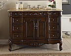 42 inch Adelina Antique Fashioned Look Bathroom Vanity