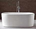 67 inch Free Standing Soaking Bathtub