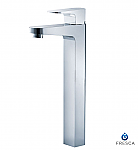 Chrome Fiora Single Handle Vessel Mount Lavatory Faucet