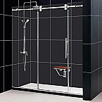 "DreamLine 72""W x 79""H Enigma Shower Door Fully Frameless"