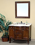 Bella 38 inch Bathroom Vanity Cream Marble Countertop