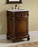24 inch Adelina Victorian Bathroom Vanity Cabinet