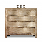Aidan 36 inch Curved Chest Bathroom Vanity