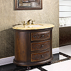 "Decorative 36"" Bathroom Vanity Cabinet Crestwood"