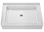 "DreamLine SHTR-1132320-00 Trio Shower Tray 32"" x 32"" x 5"""
