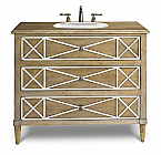 Genevieve 41 inch Chest Bathroom Vanity by Cole & Co. Designer Series