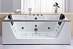 EAGO AM196HO Rectangular Whirlpool Bath Tub