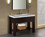 48 inch Dark Walnut Modern Bathroom Vanity