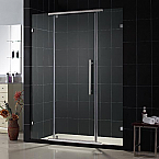 "DreamLine 46 1/8""W x 76""H Vitreo Shower Door Reversible Right or Left"