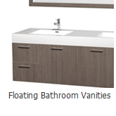 Floating Bathroom Vanities
